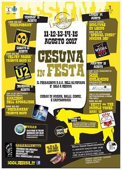 CESUNA IN FESTA - LA SAGRA DELL'ALTOPIANO DALL'11 AL 15 AGOSTO