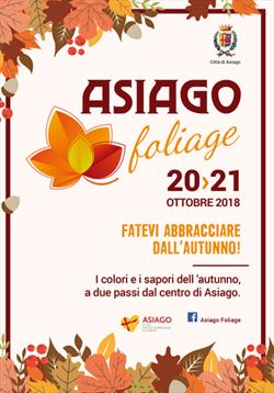 ASIAGO FOLIAGE 20 - 21 OTTOBRE