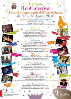 CUCU FESTIVAL - FESTIVAL INTERNAZIONALE DELL'ARTE DI STRADA - 23.26 AGOSTO