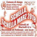 SCHELLA MARZO - ADDIO INVERNO - ASIAGO DAL 26 AL 28 FEBBRAIO